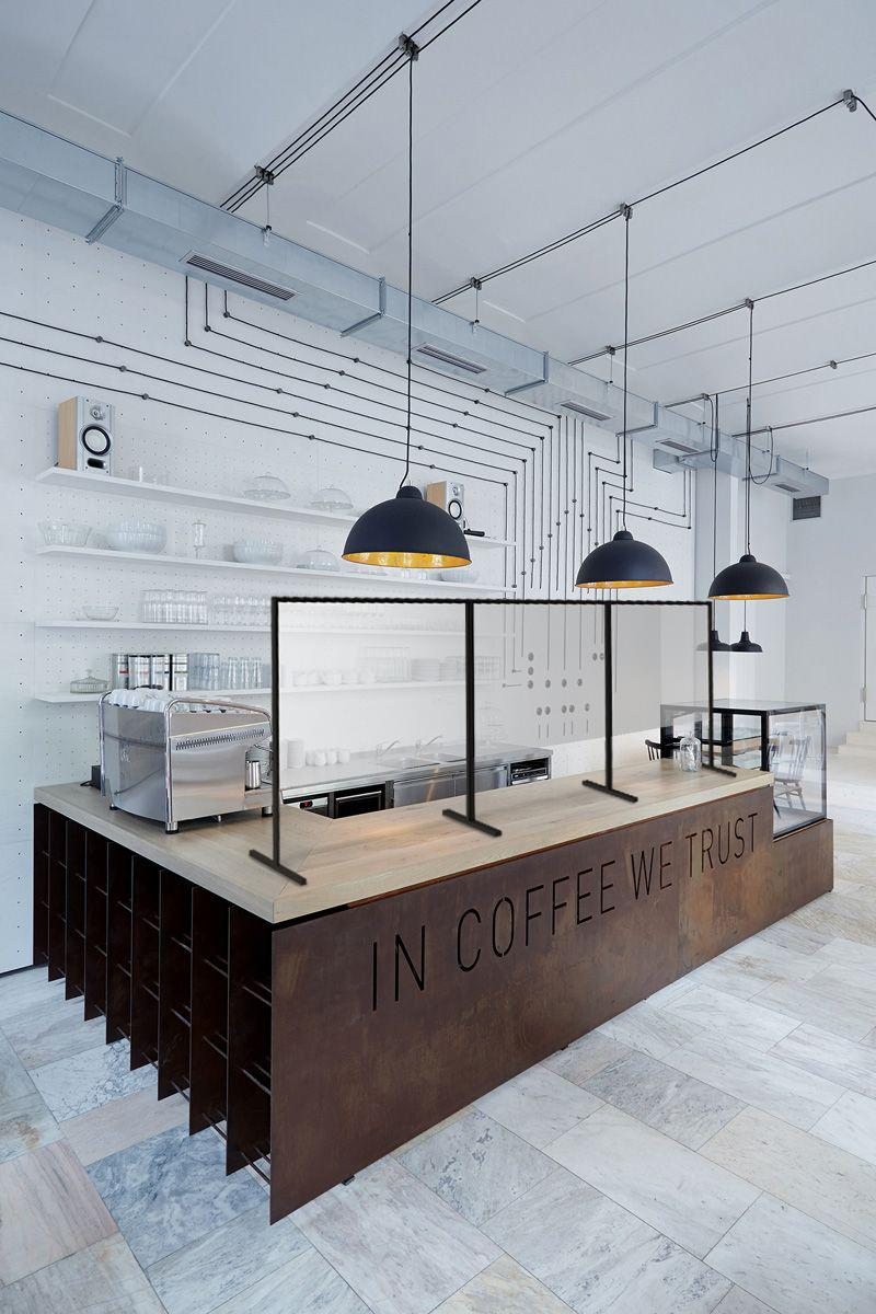 Arredamento bar moderno: in coffee we trust